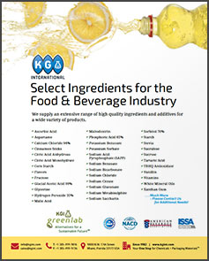 KGI Food Beverage Brochure